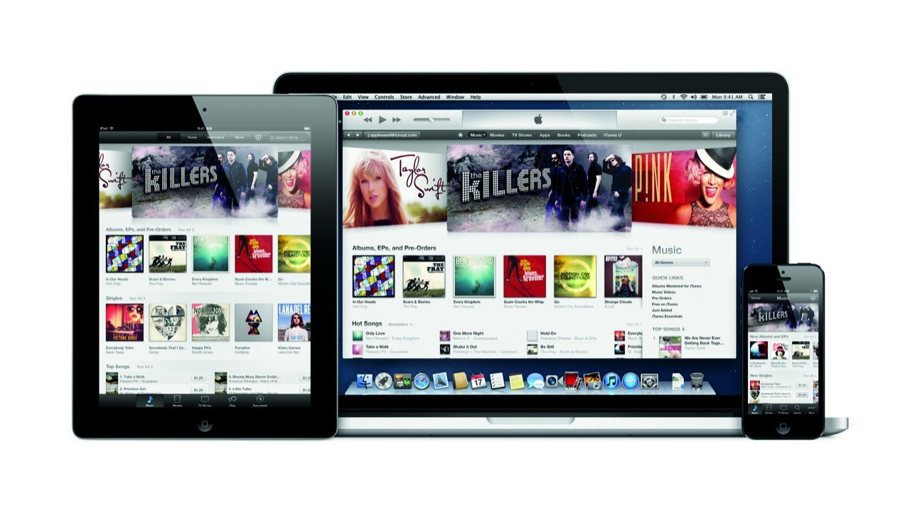 iTunes (iPad, MacBook, iPhone) - Apple