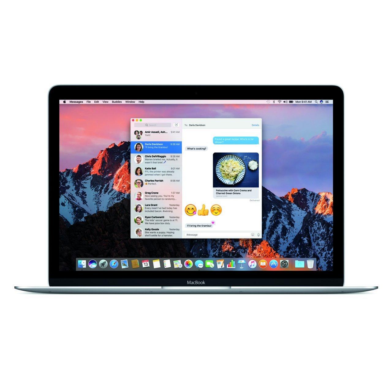macOS Sierra Nachrichten-App (MacBook) - Apple