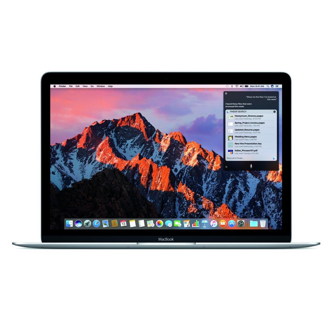 macOS Sierra Siri (MacBook) (2) - Apple