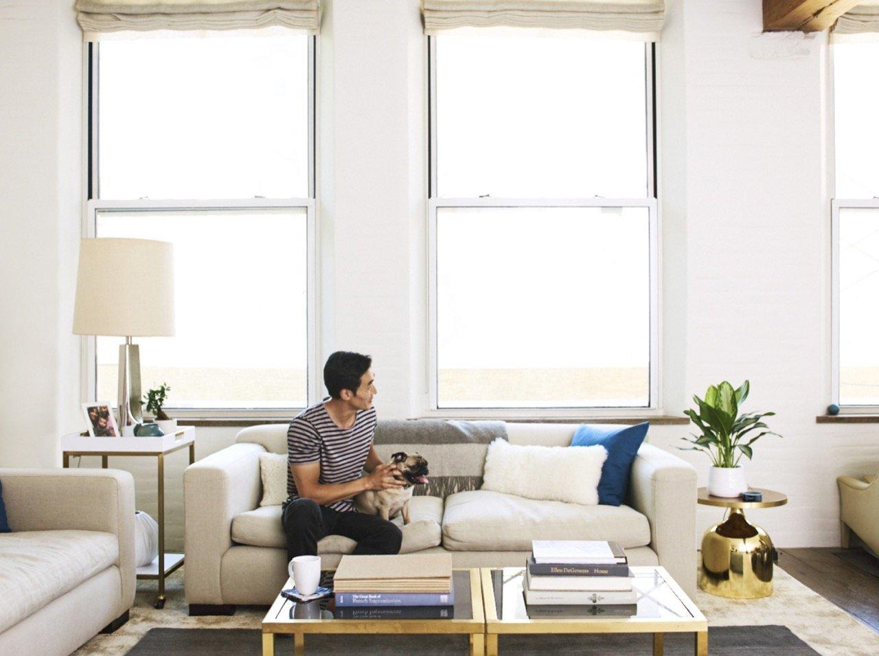 Amazon Echo Dot - schwarz, Wohnzimmer - Amazon Presse