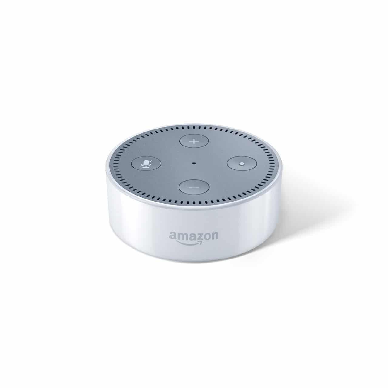 Amazon Echo Dot - weiß, Vorderansicht (1) - Amazon Presse