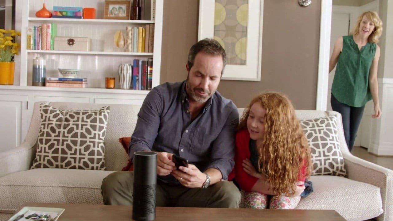 Amazon Echo - Wohnzimmer - Amazon Presse