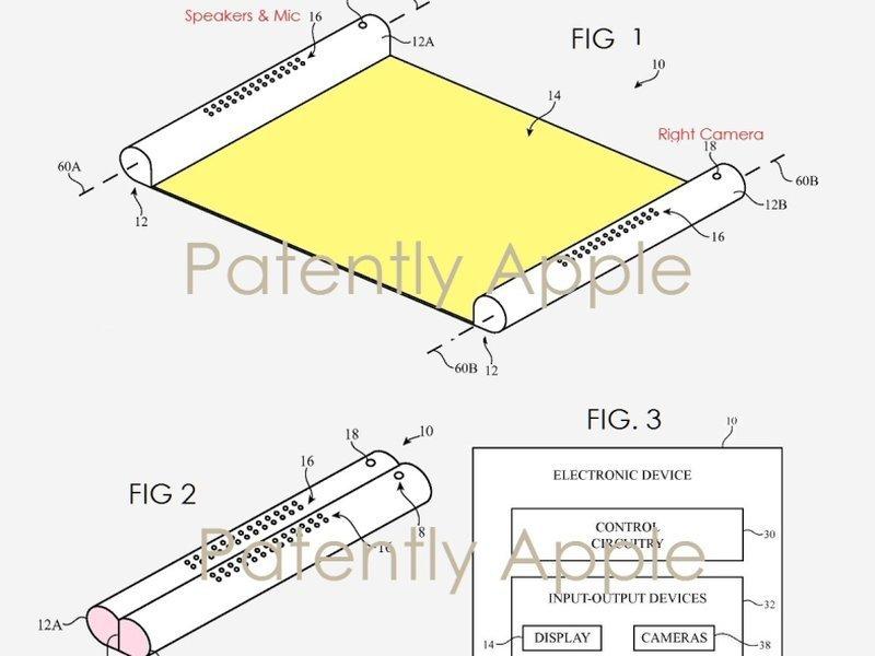 Rollbares Display - Patentantrag von Apple