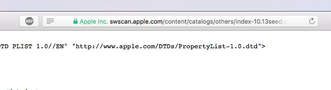 Erste Hinweise auf macOS 10.13