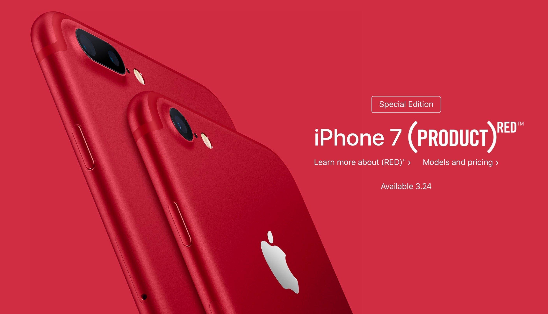 iPhone 7 Product Red - macrumors.com