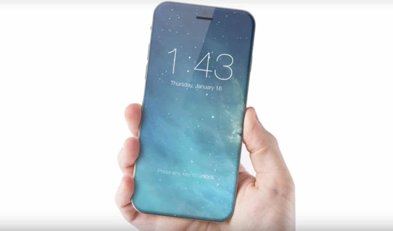 iPhone 8 Konzept - Edge-to-edge iPhone concept image via ConceptsiPhone / macroumors.com