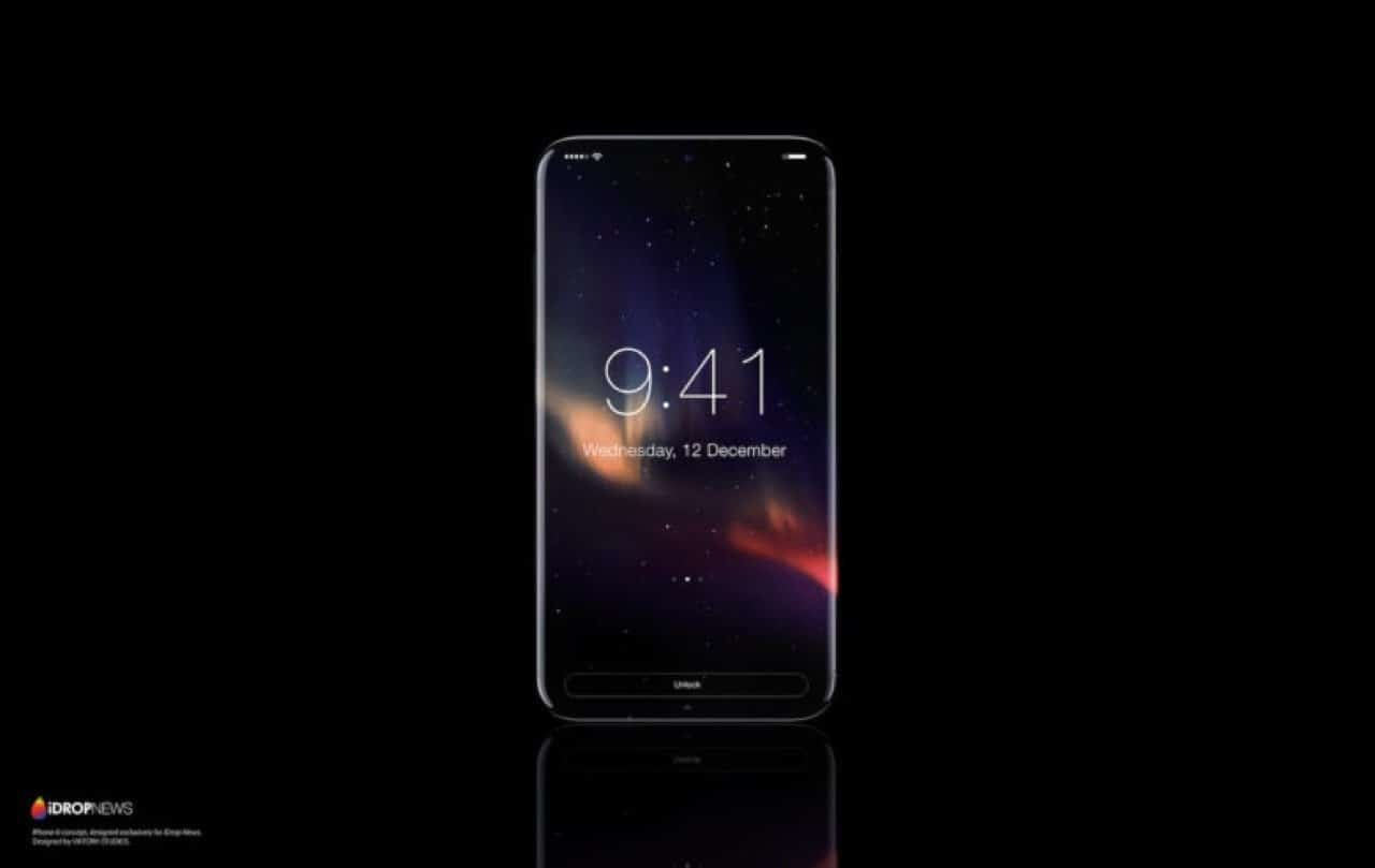 iPhone 8 Konzept - Keine Displayränder mehr (Photo iDropNews) / cultofmac.com