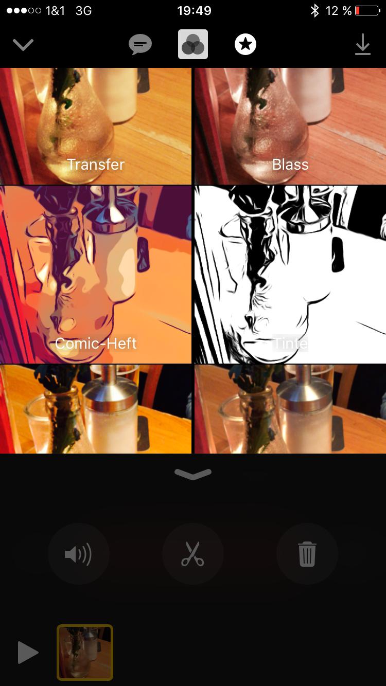 Apple Clips 4 - Filter - Screenshot
