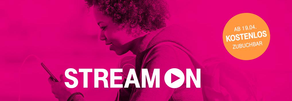 Telekom Stream On - Titel - Screenshot Telekom