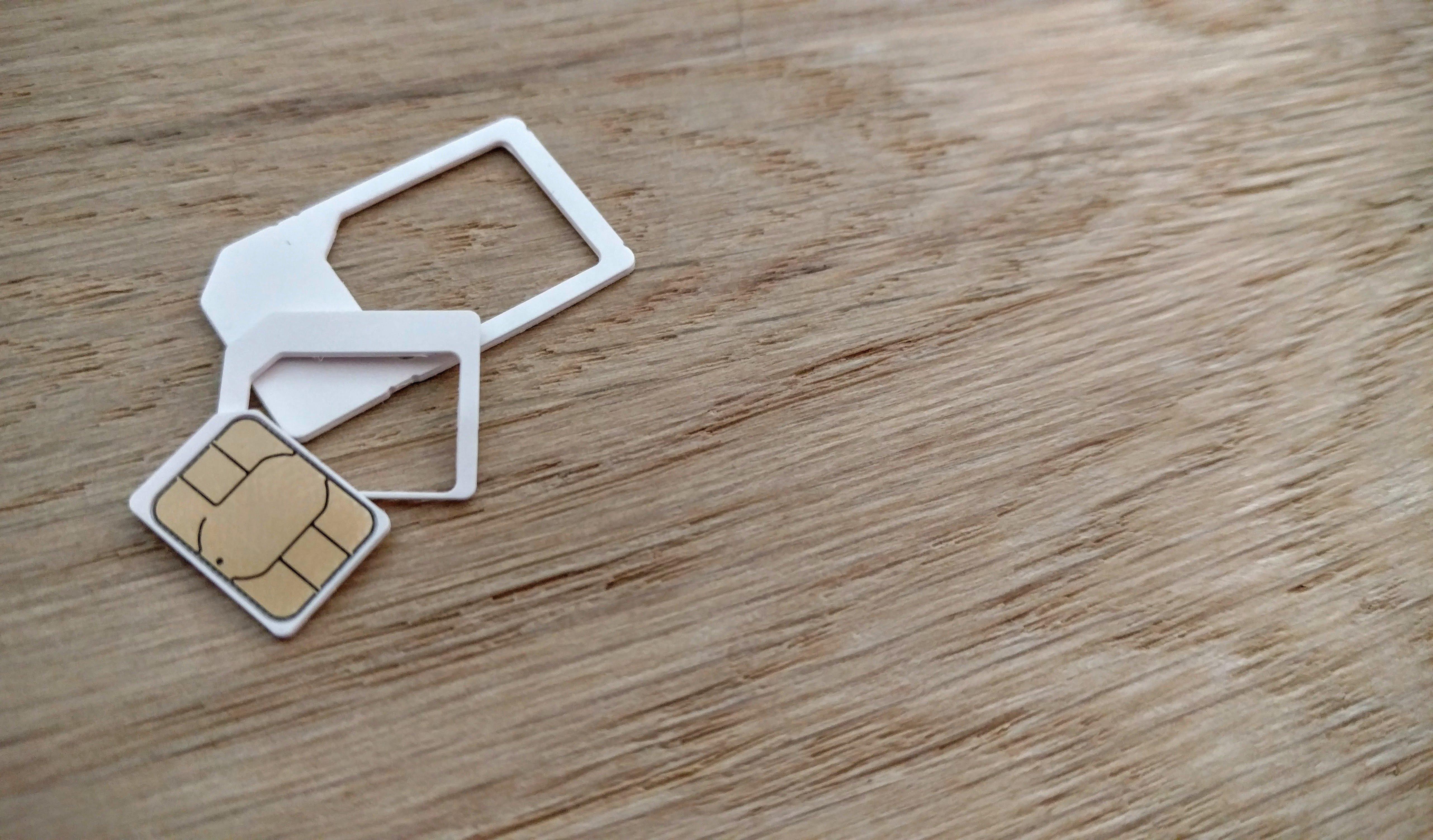 SIM-Karte, Bild: CC0