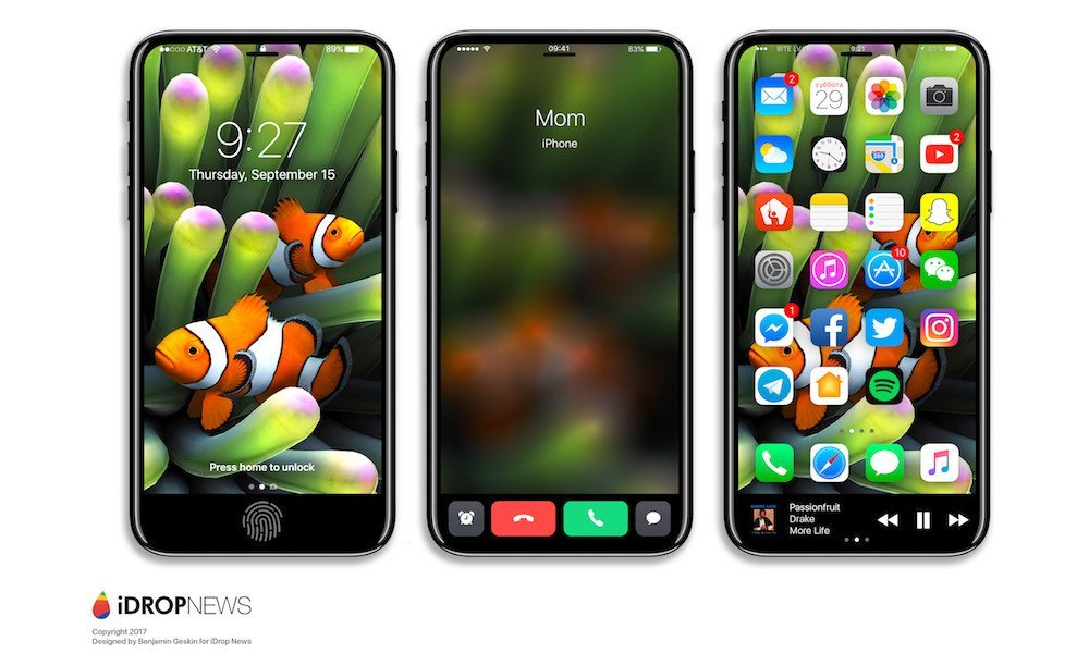 iPhone 8 mit Funkction Area - iDrop News