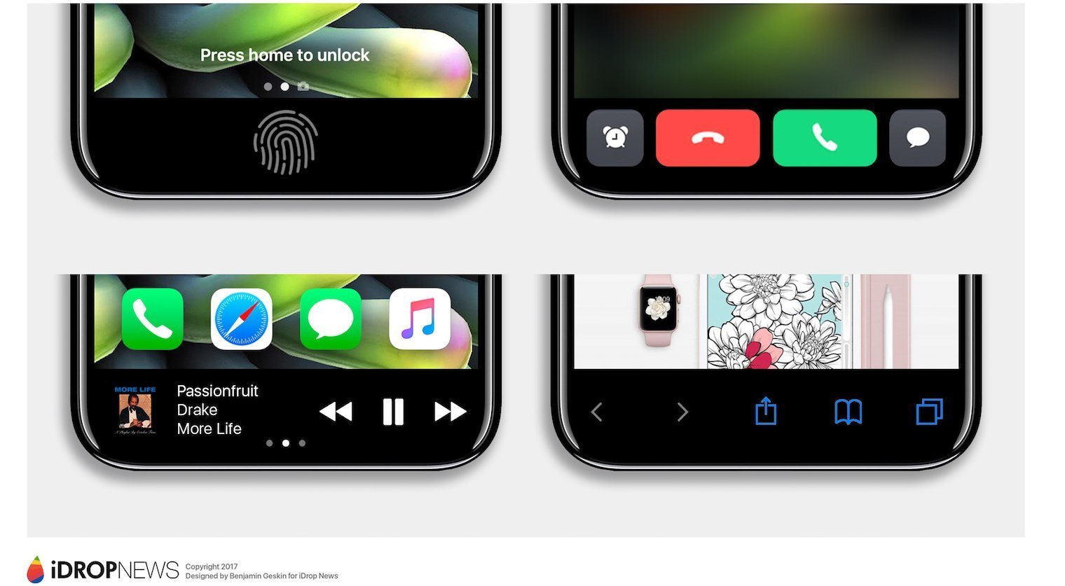 iPhone-8 Function Area - iDrop-News-