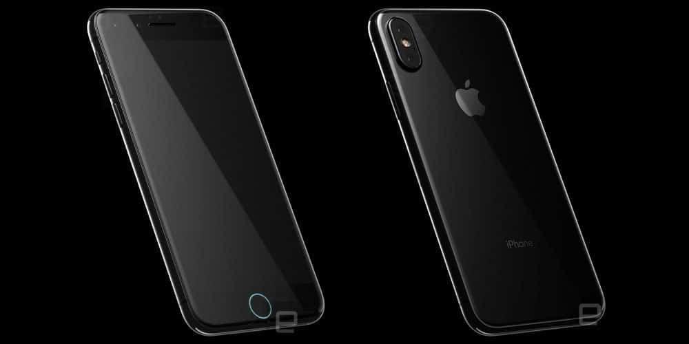 iPhone 8 Konzept (Vorderseite-Rückseite) - engadget