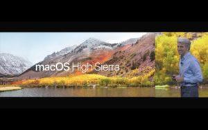 macOS High Sierra auf der WWDC 2017