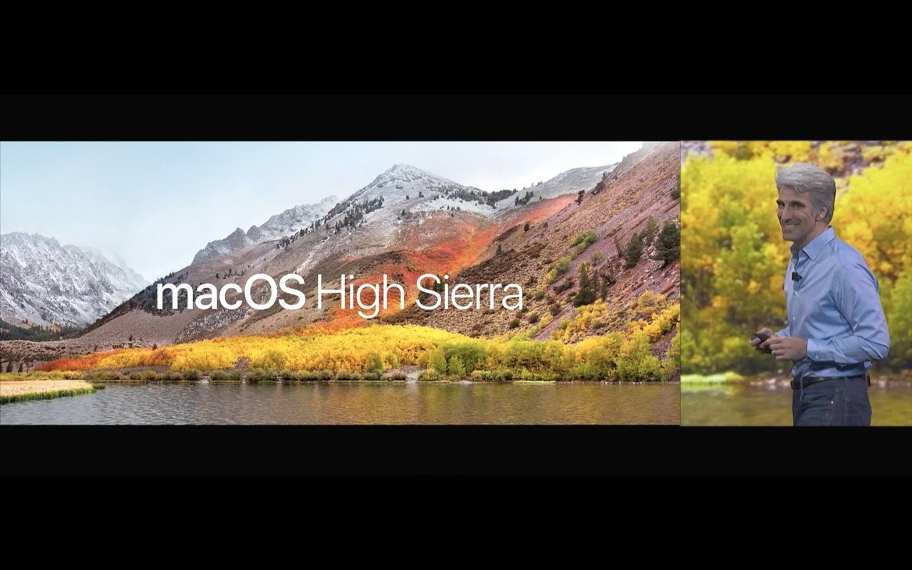 WWDC - macOS High Sierra (Craig Federighi) - Screenshot - WakeUp Media