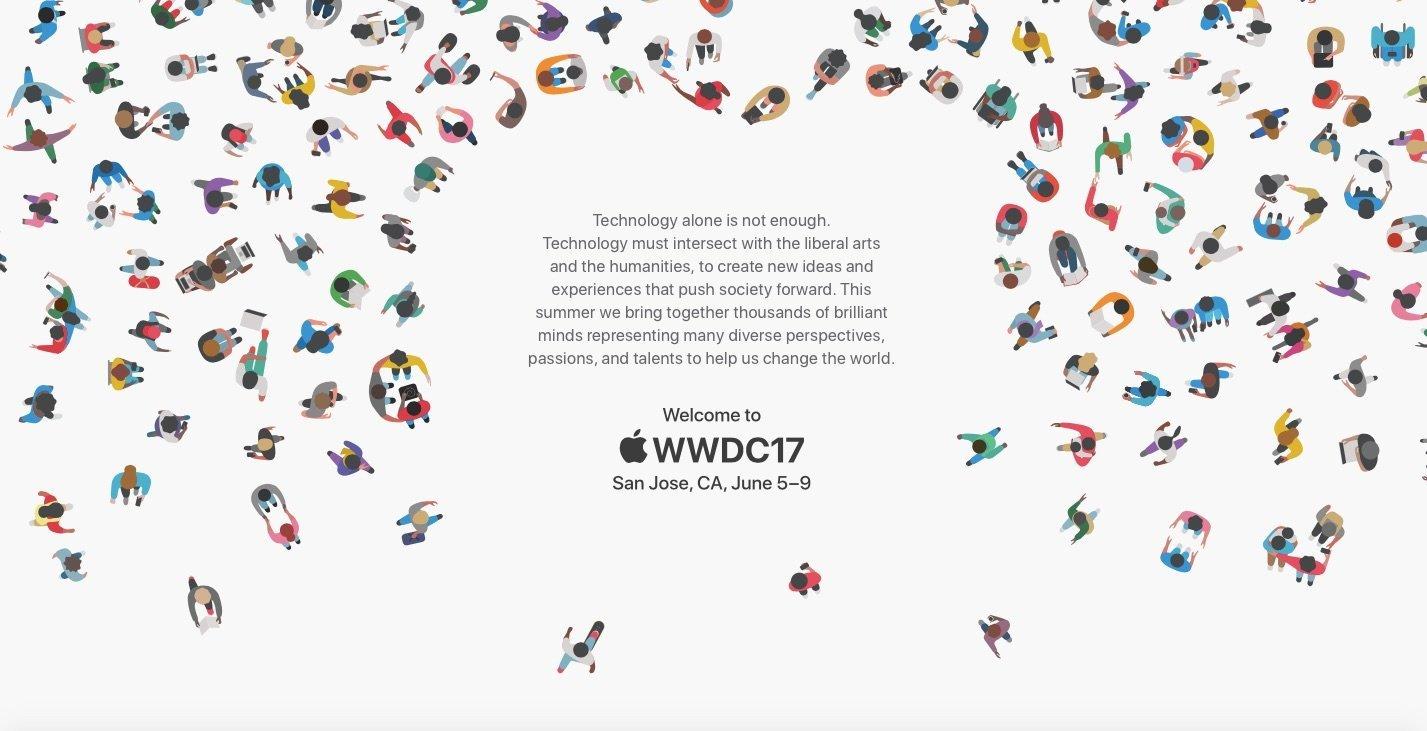 Das WWDC 2017 Einladungslogo