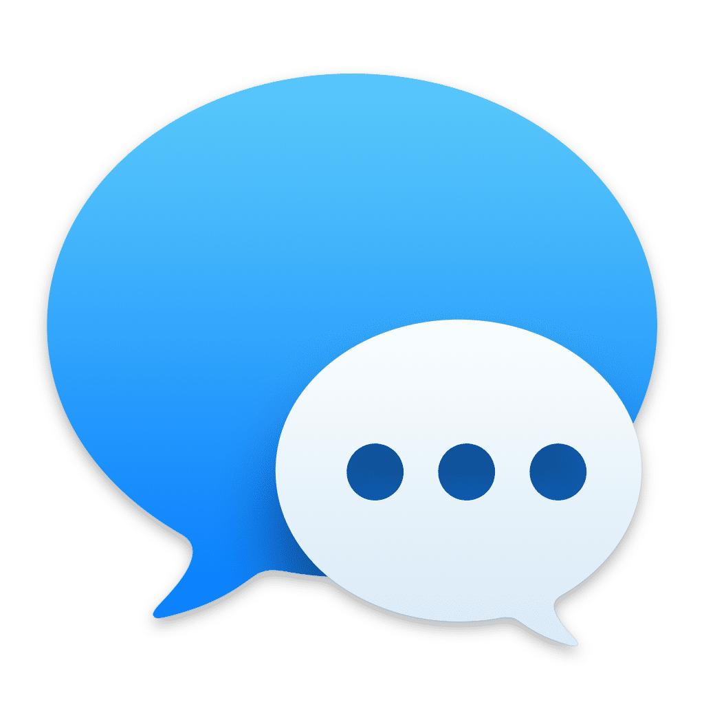 Icon der Nachrichten-App in macOS