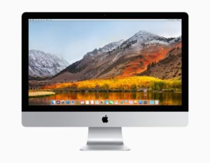 iMac mit macOS High Sierra, Bild: Apple