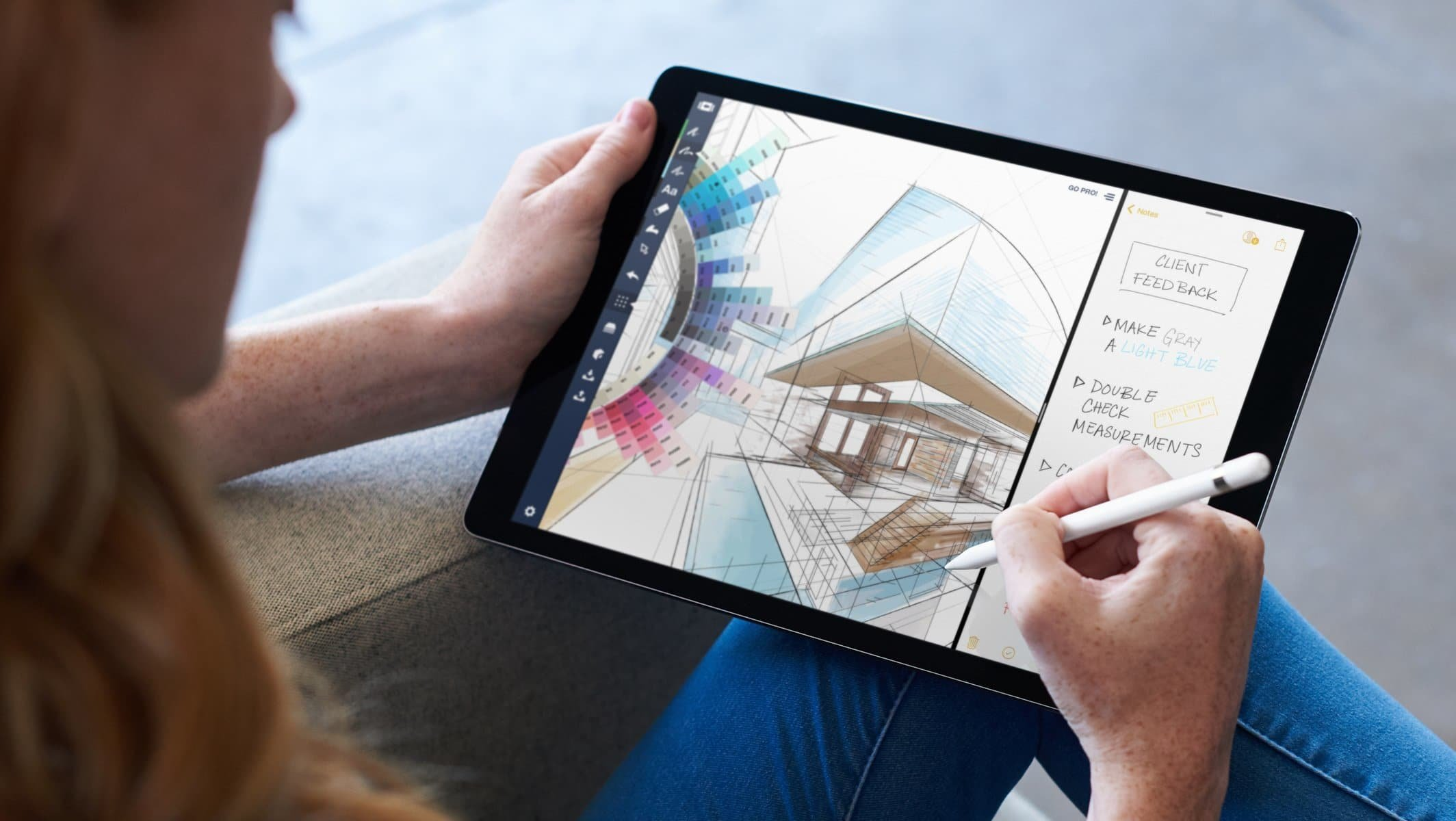 iOS 11 auf dem iPad Pro, Bild: Apple