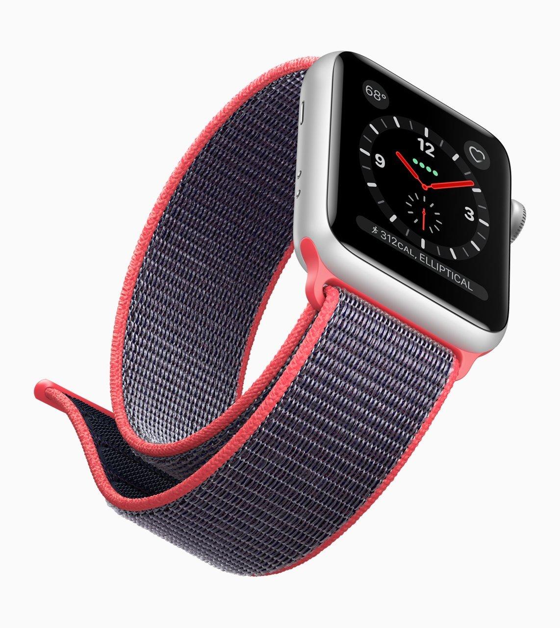 Apple Watch Series 3: Im Ausland LTE nur via iPhone