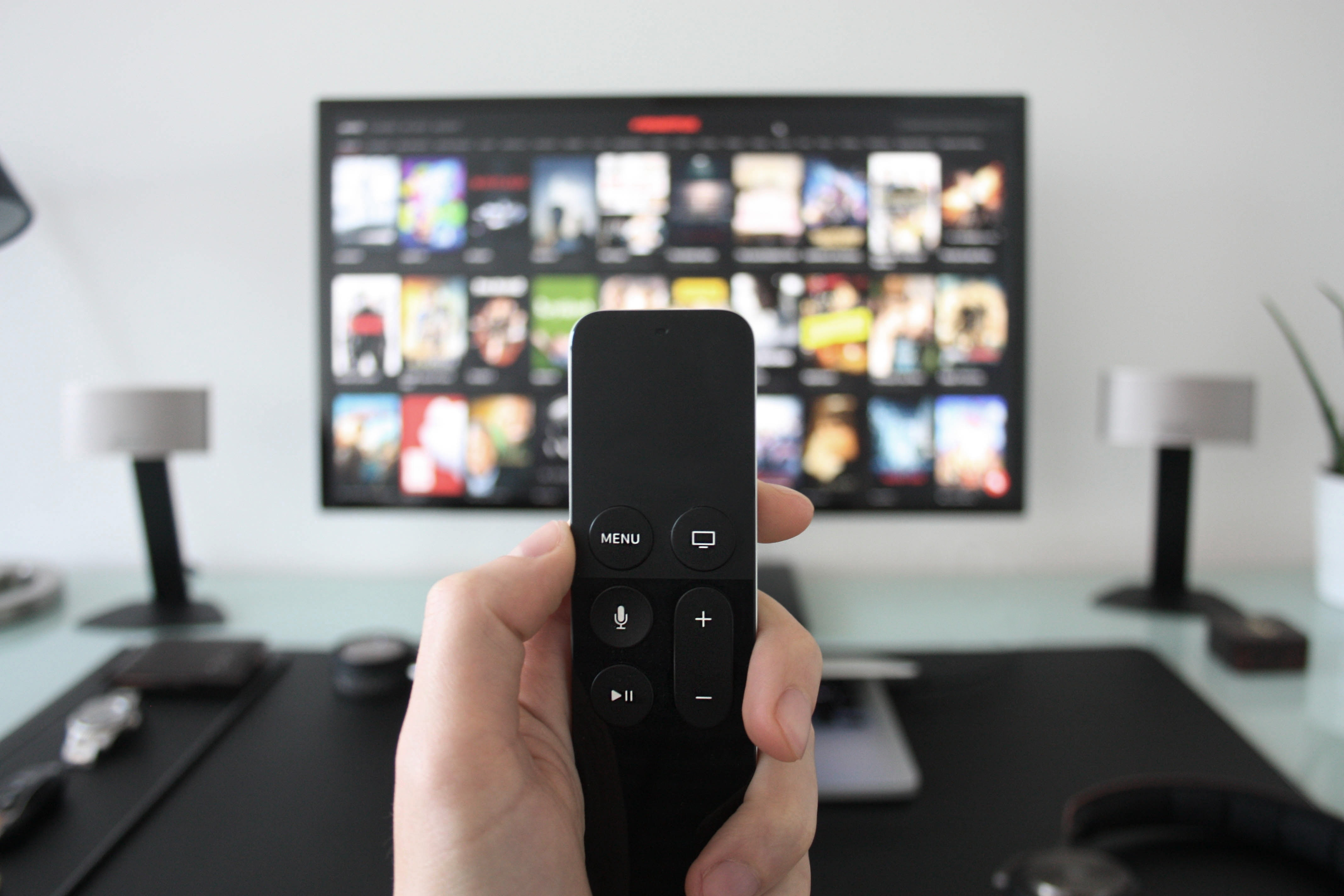 Apple-TV-Fernbedienung
