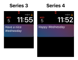 Apple Watch Series 4 Watch Face / 9to5Mac