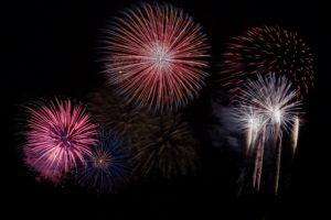 Feuerwerk - Symbolbild-.