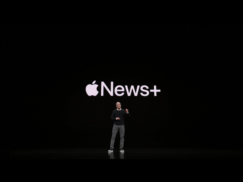 Präsentation von Apple News+
