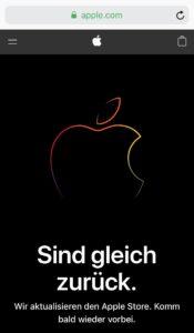 Apple Store Down März 2019