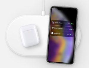 AirPower mit dem iPhone Xs