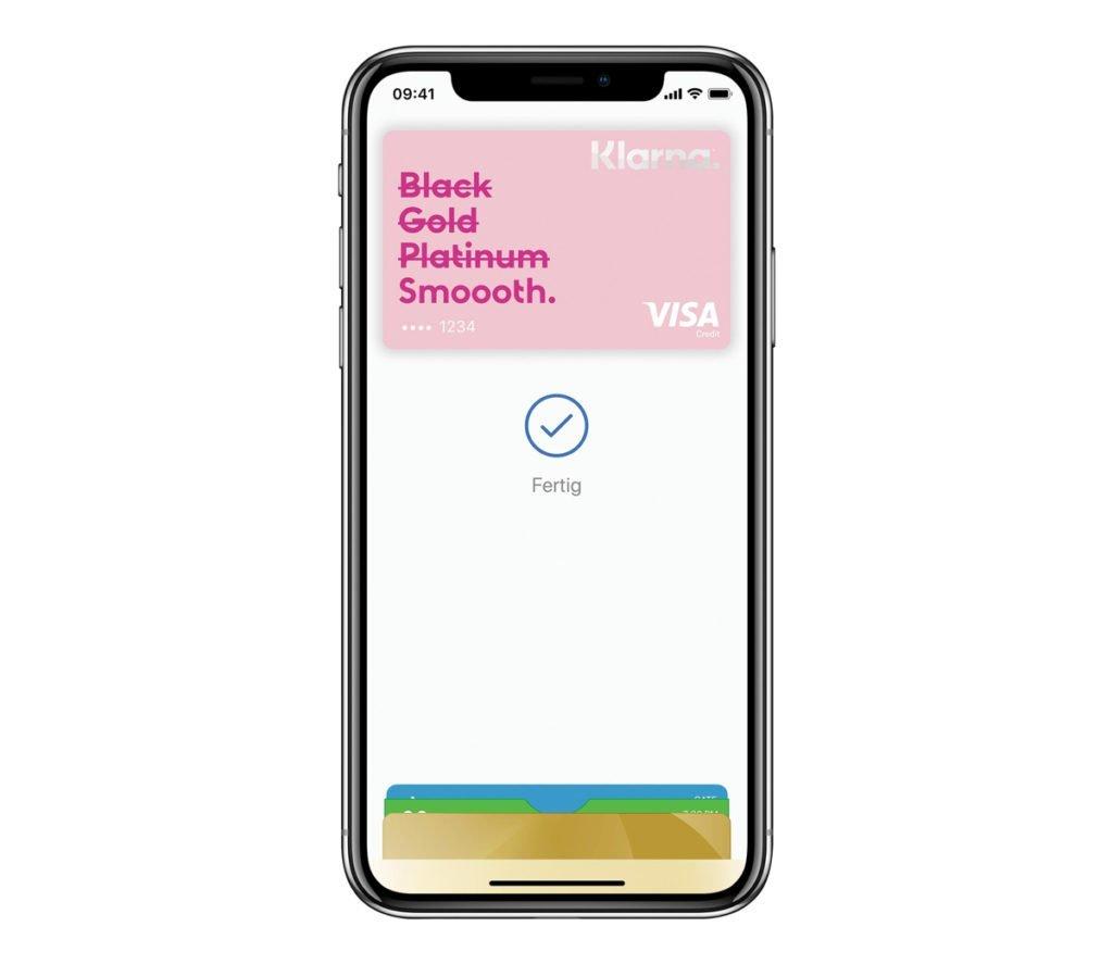 Klarna Card Apple Pay - Klarna