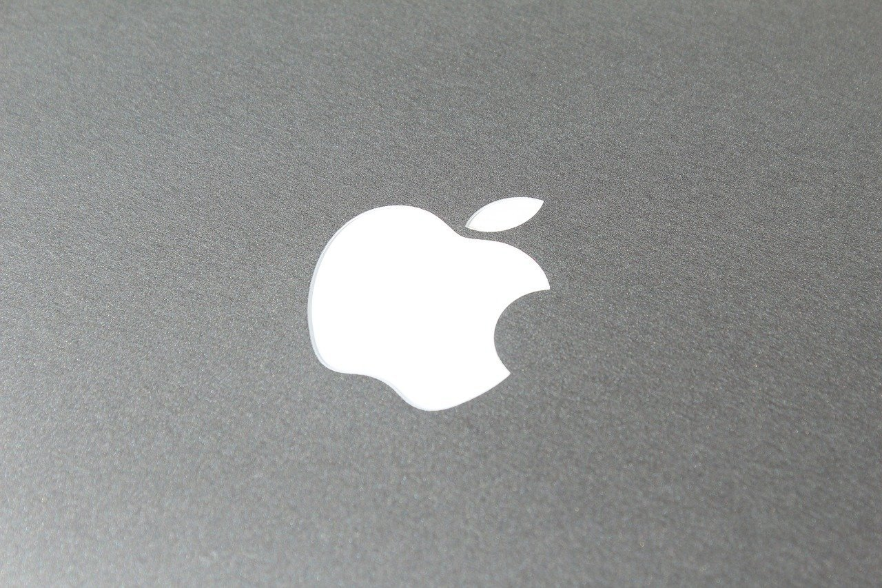 Apple-Logo auf dem MacBook