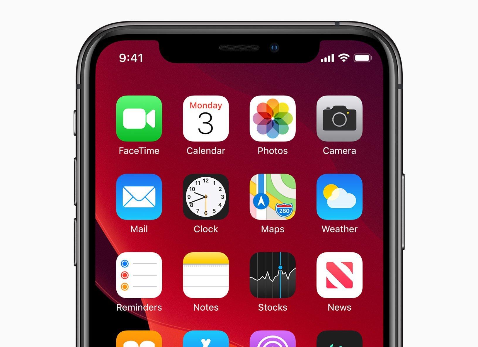 iOS 13 auf dem iPhone