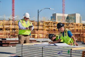 Bauarbeiter in San Jose