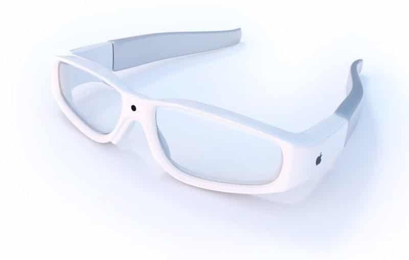 Konzept von AR-Brille Apples