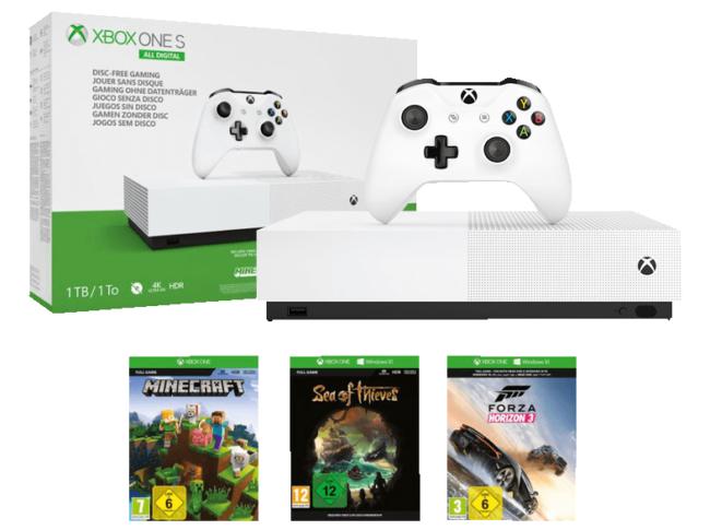 Xbox One S - All Digital Edition