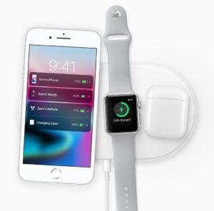 iPhone 8 auf Ladematte