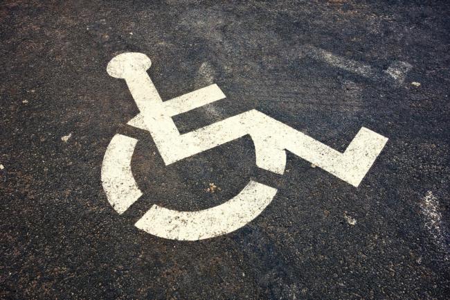 Rollstuhlfahrer Piktogramm
