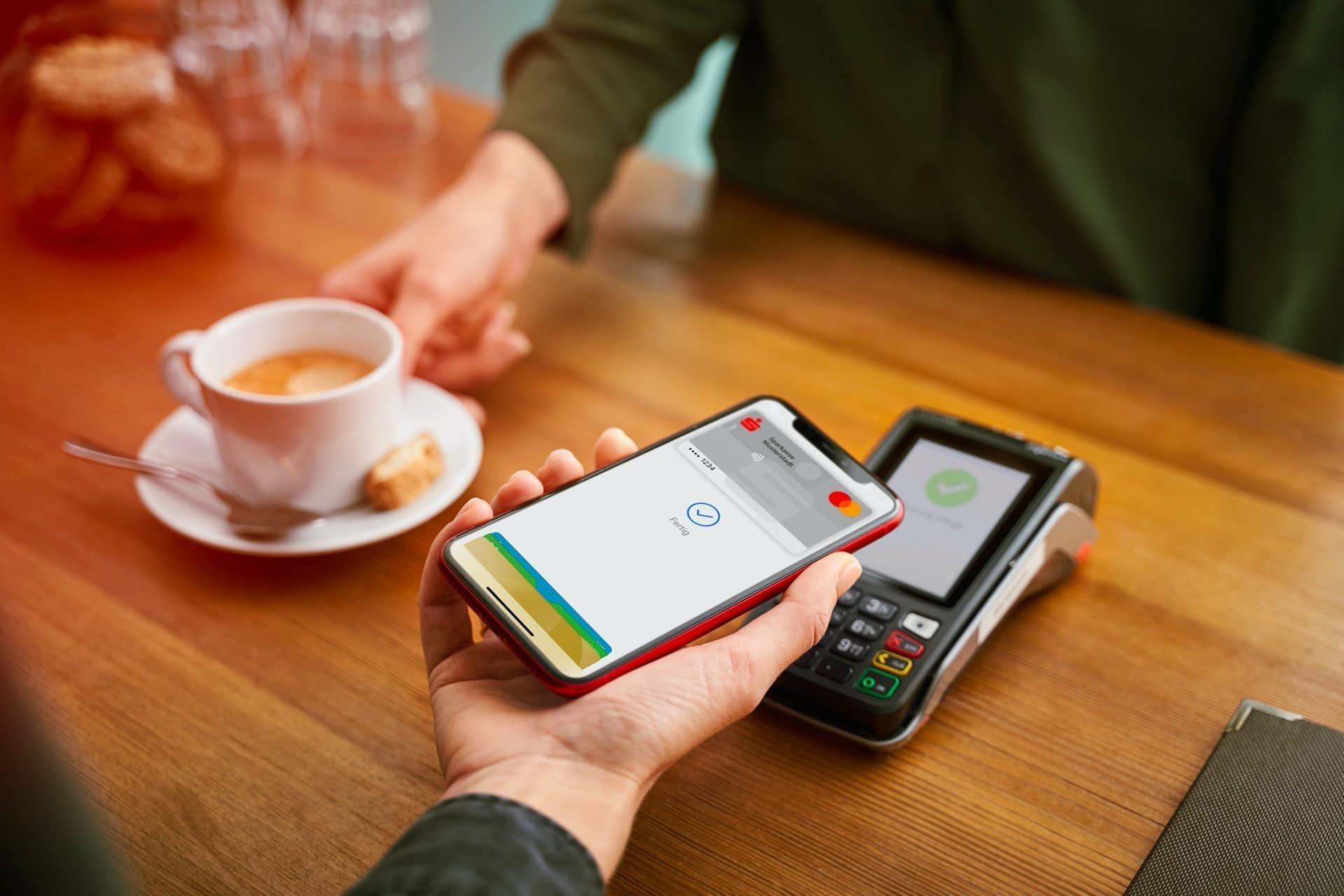 Apple Pay mit der Sparkasse nutzen
