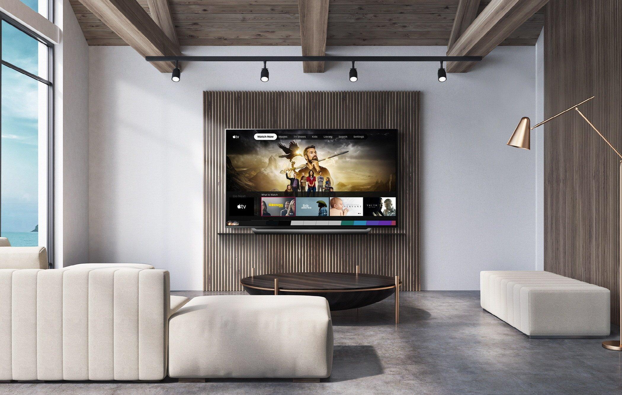 LG-Fernseher mit Apple TV Support