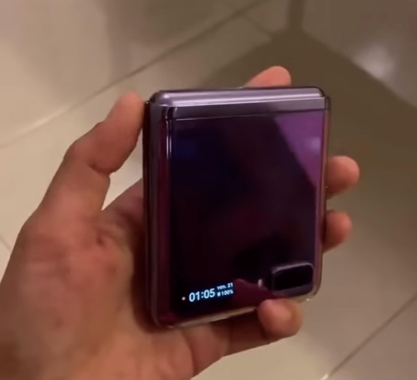 Vermeintliches Samsung Galaxy Z Flip