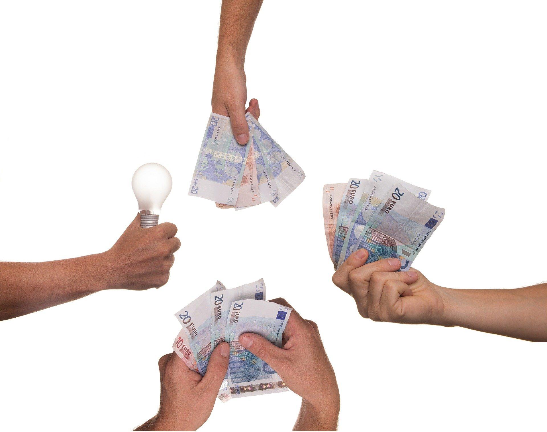 Eine Idee im Crowdfunding