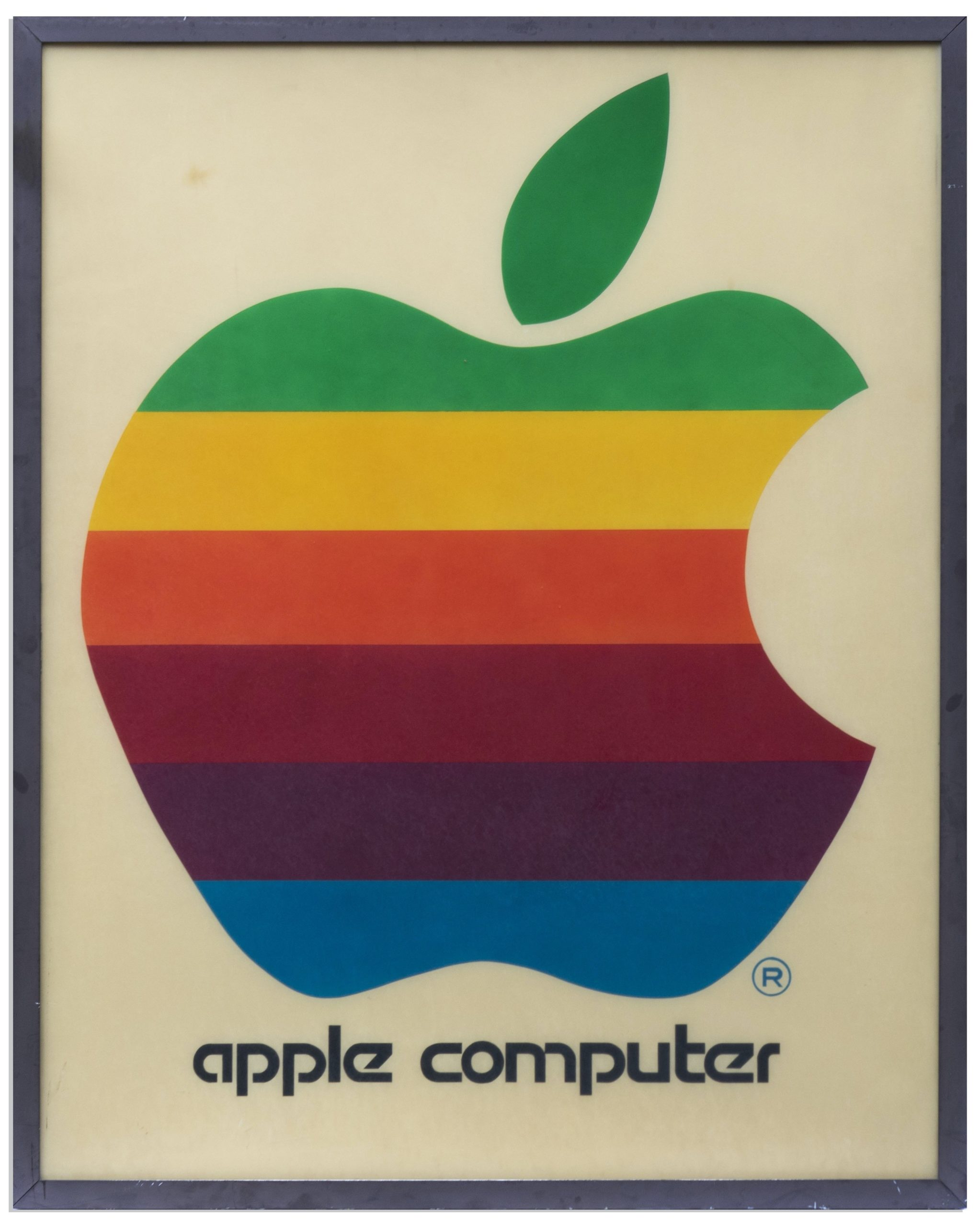 Apple Computer Werbeschild