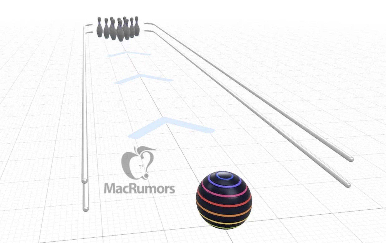 Apples AR-Bowling-App als Prototyp