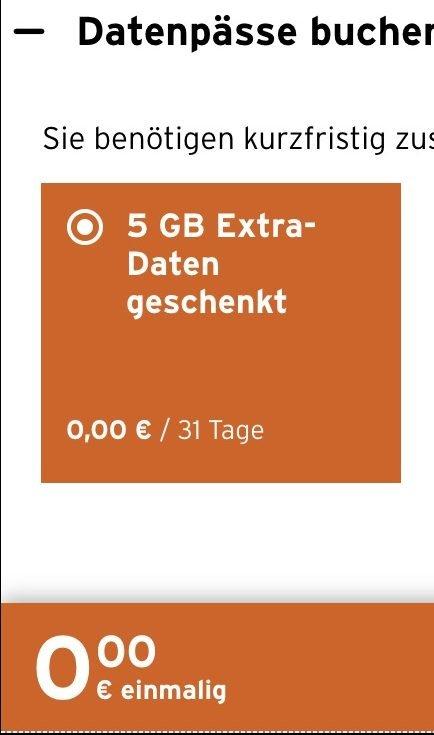 Congstar verschenkt 5 GB Daten