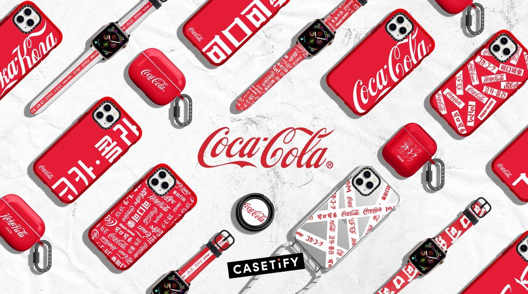 Casetify und Coca-Cola bringen iPhone-Schutzhülle und Apple-Watch-Armbänder