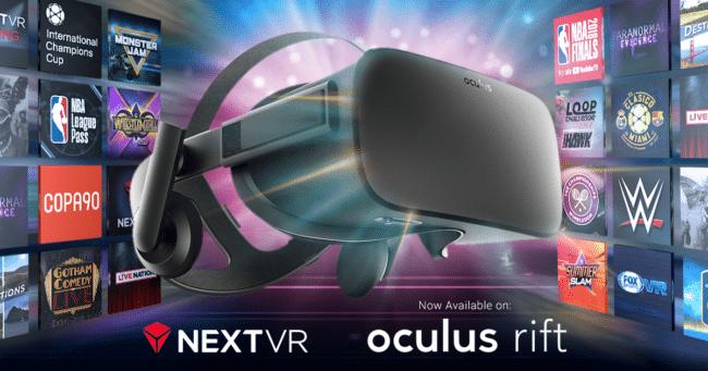 NextVR auf Oculus