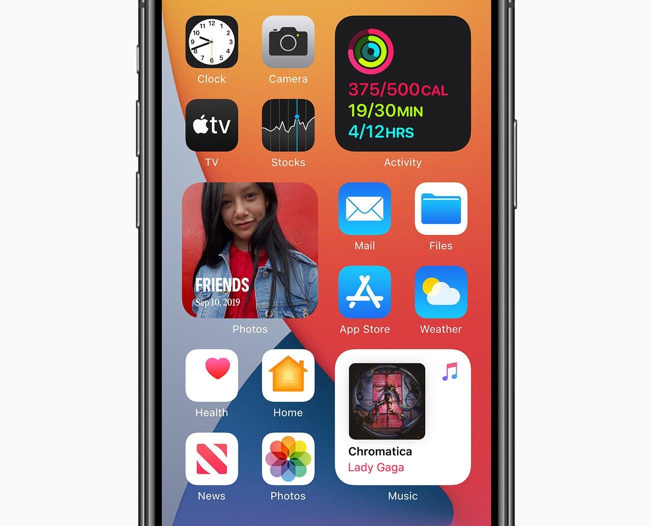iOS 14 mit Widgets