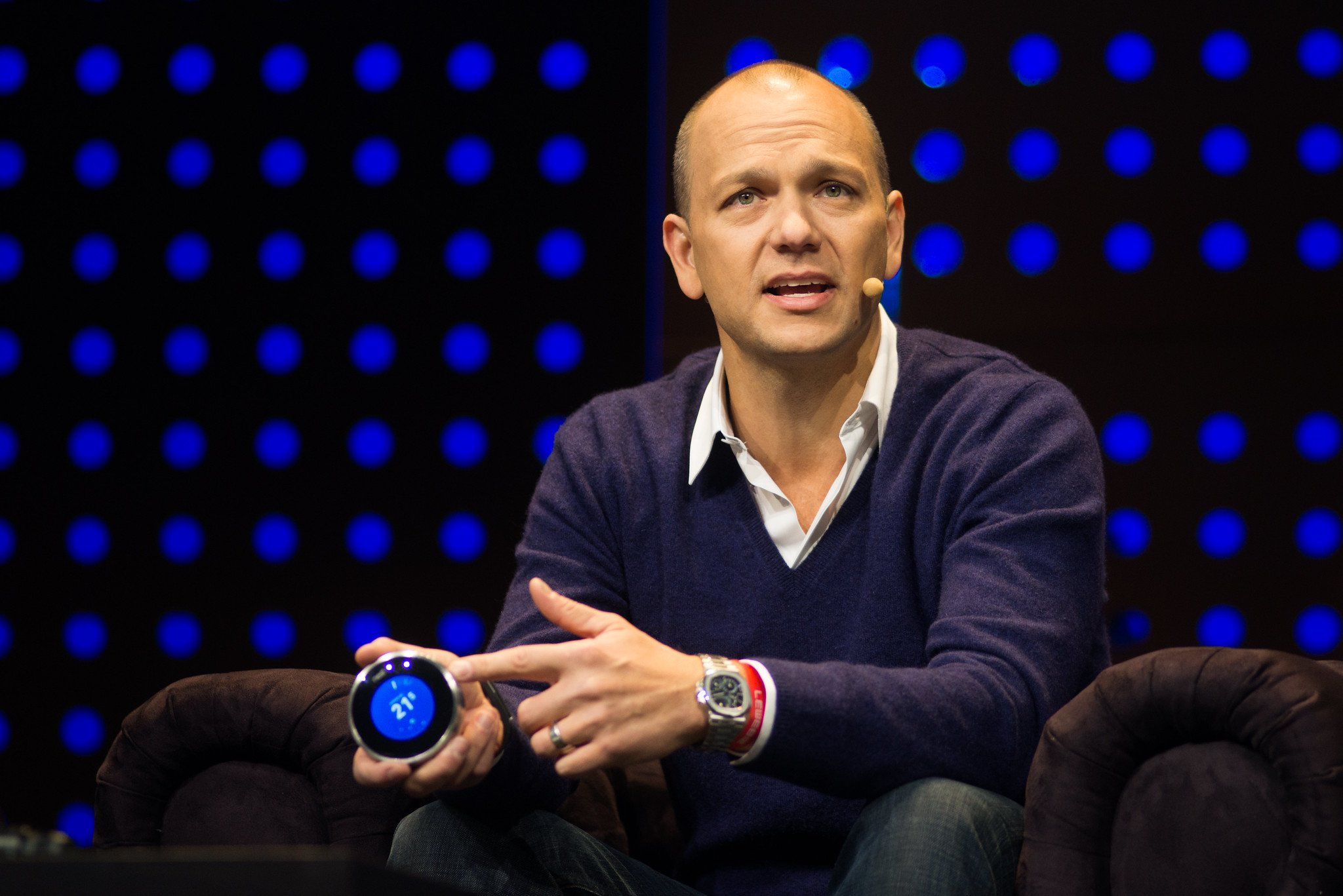 Tony Fadell auf der LeWeb 12 in Paris