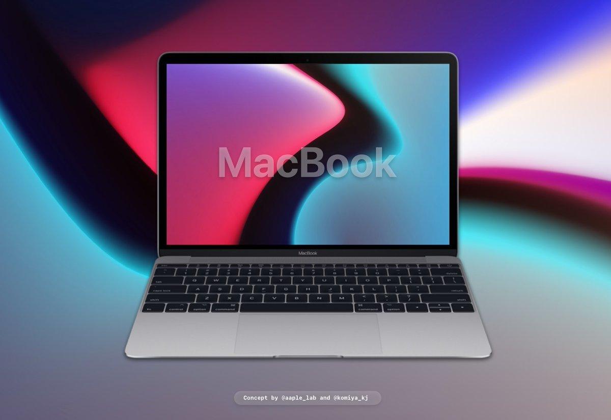 Konzept: MacBook mit ARM-Prozessor